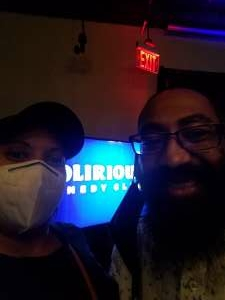 Johnny Rideau  attended Delirious Comedy Club on Apr 8th 2021 via VetTix
