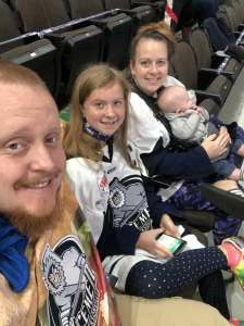 Alex attended Jacksonville Icemen vs. Florida Everblades - ECHL on Apr 11th 2021 via VetTix
