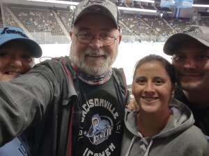Tuck attended Jacksonville Icemen vs. Florida Everblades - ECHL on Apr 11th 2021 via VetTix