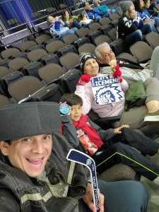 Nicolas B. attended Jacksonville Icemen vs. Florida Everblades - ECHL on Apr 11th 2021 via VetTix