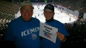 AJ Lynch attended Jacksonville Icemen vs. Florida Everblades - ECHL on Apr 11th 2021 via VetTix
