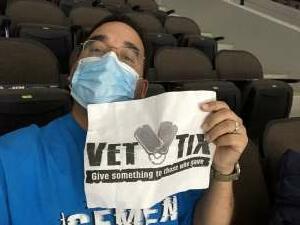 Ruben L. attended Jacksonville Icemen vs. Florida Everblades - ECHL on Apr 9th 2021 via VetTix