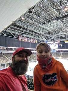 Chris attended Jacksonville Icemen vs. Florida Everblades - ECHL on Apr 9th 2021 via VetTix