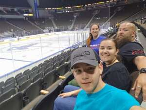 Amanda Chapman attended Jacksonville Icemen vs. Florida Everblades - ECHL on Apr 9th 2021 via VetTix