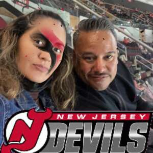 Wendy Maravi attended New Jersey Devils vs. Pittsburgh Penguins - NHL on Apr 9th 2021 via VetTix