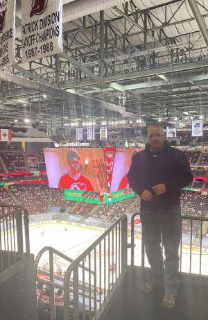 Robert OS2 attended New Jersey Devils vs. Pittsburgh Penguins - NHL on Apr 9th 2021 via VetTix