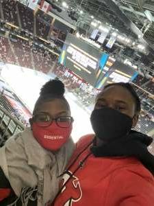 Kdubb09 attended New Jersey Devils vs. Pittsburgh Penguins - NHL on Apr 9th 2021 via VetTix