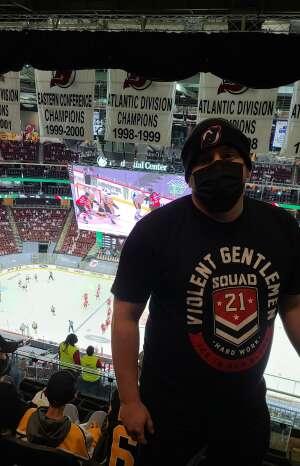 AH attended New Jersey Devils vs. Pittsburgh Penguins - NHL on Apr 9th 2021 via VetTix