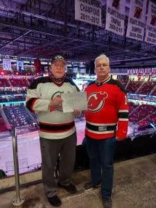 Chris attended New Jersey Devils vs. Pittsburgh Penguins - NHL on Apr 9th 2021 via VetTix