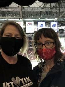 Lisa attended New Jersey Devils vs. Pittsburgh Penguins - NHL on Apr 9th 2021 via VetTix