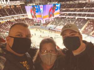 Ron Griggs attended New Jersey Devils vs. Pittsburgh Penguins - NHL on Apr 9th 2021 via VetTix