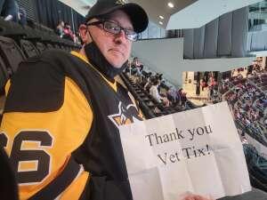 YINZR attended New Jersey Devils vs. Pittsburgh Penguins - NHL on Apr 9th 2021 via VetTix