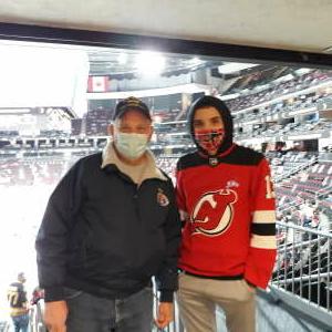 Pete attended New Jersey Devils vs. Pittsburgh Penguins - NHL on Apr 9th 2021 via VetTix