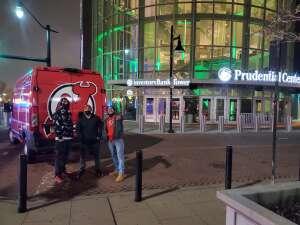 Danny attended New Jersey Devils vs. Pittsburgh Penguins - NHL on Apr 9th 2021 via VetTix