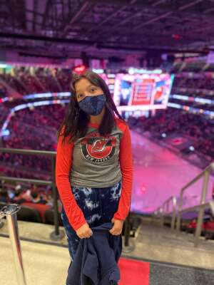 Walsh attended New Jersey Devils vs. Pittsburgh Penguins - NHL on Apr 9th 2021 via VetTix