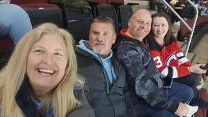 James Whitaker attended New Jersey Devils vs. Pittsburgh Penguins - NHL on Apr 9th 2021 via VetTix