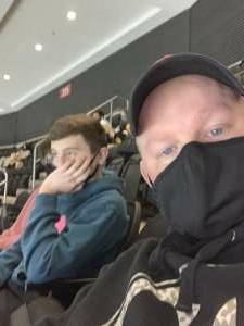 Tom S. attended New Jersey Devils vs. Pittsburgh Penguins - NHL on Apr 9th 2021 via VetTix
