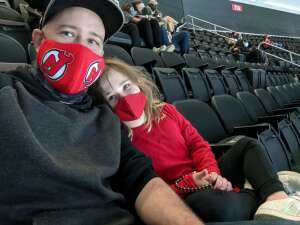 Jay Redington  attended New Jersey Devils vs. Pittsburgh Penguins - NHL on Apr 9th 2021 via VetTix