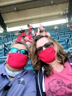 Erwin attended Los Angeles Angels vs. Houston Astros - MLB on Apr 6th 2021 via VetTix