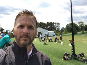 CL attended Wells Fargo Championship - PGA on May 7th 2021 via VetTix