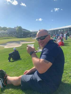 TJ & Michelle attended Wells Fargo Championship - PGA on May 7th 2021 via VetTix