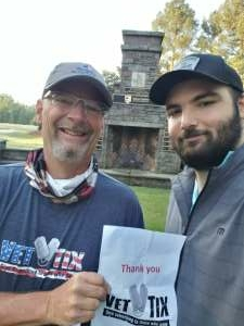 Brian J attended Wells Fargo Championship - PGA on May 7th 2021 via VetTix