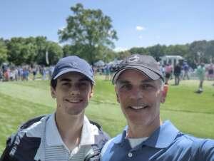William Vahey attended Wells Fargo Championship - PGA on May 7th 2021 via VetTix