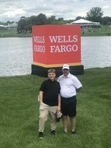Roger attended Wells Fargo Championship - PGA on May 7th 2021 via VetTix