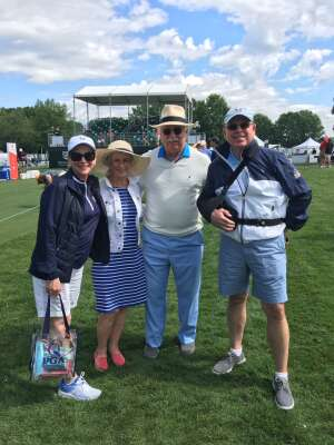 CJ McCaleb attended Wells Fargo Championship - PGA on May 7th 2021 via VetTix