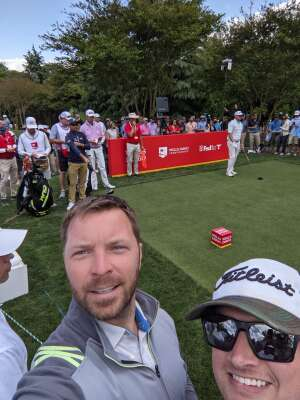 Rob attended Wells Fargo Championship - PGA on May 7th 2021 via VetTix