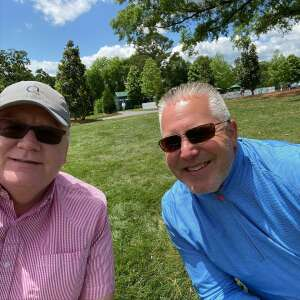 Stewart Mathis attended Wells Fargo Championship - PGA on May 7th 2021 via VetTix