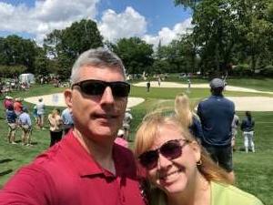 gmtorok attended Wells Fargo Championship - PGA on May 7th 2021 via VetTix