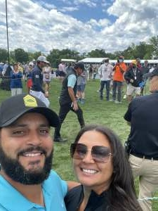 Joey Pryor attended Wells Fargo Championship - PGA on May 7th 2021 via VetTix