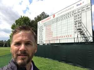 CL attended Wells Fargo Championship - PGA on May 8th 2021 via VetTix