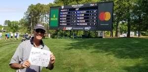 Denny D attended Wells Fargo Championship - PGA on May 6th 2021 via VetTix