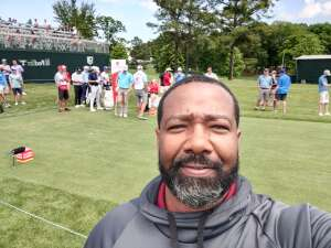 Jeff Stevenson attended Wells Fargo Championship - PGA on May 6th 2021 via VetTix
