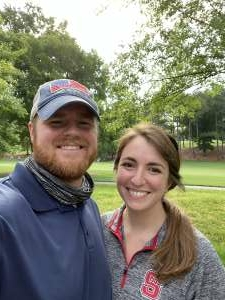 Caleb  attended Wells Fargo Championship - PGA on May 6th 2021 via VetTix