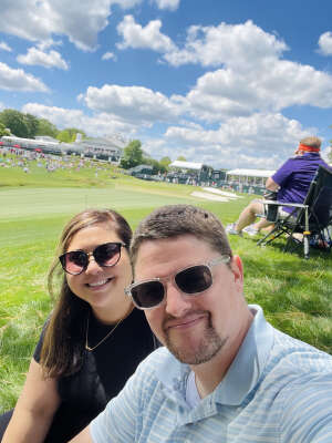 Chris Wright attended Wells Fargo Championship - PGA on May 6th 2021 via VetTix