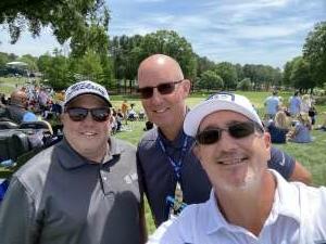 Larry attended Wells Fargo Championship - PGA on May 6th 2021 via VetTix