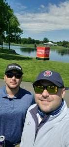 David attended Wells Fargo Championship - PGA on May 6th 2021 via VetTix