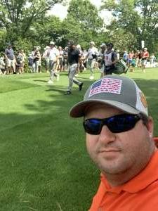 JP attended Wells Fargo Championship - PGA on May 6th 2021 via VetTix