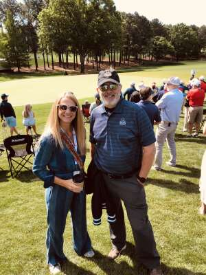 Rich attended Wells Fargo Championship - PGA on May 6th 2021 via VetTix