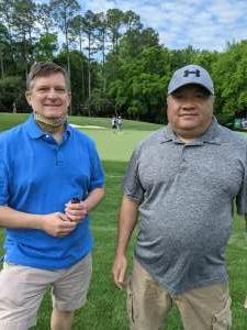 Ray H. attended Wells Fargo Championship - PGA on May 6th 2021 via VetTix