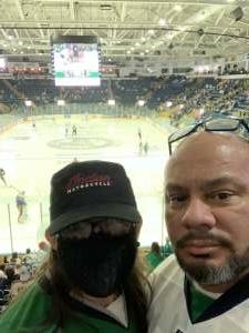 David attended Florida Everblades vs. Jacksonville Icemen - ECHL on Apr 24th 2021 via VetTix