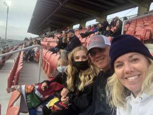 Eric attended Real Monarchs vs. Austin Bold FC - Military Appreciation Day Game on May 21st 2021 via VetTix