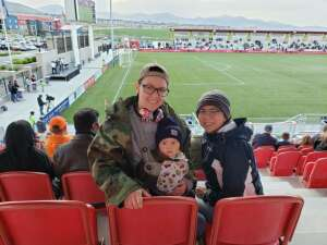 MitchFam attended Real Monarchs vs. Austin Bold FC - Military Appreciation Day Game on May 21st 2021 via VetTix