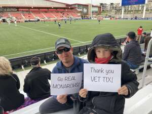 Click To Read More Feedback from Real Monarchs vs. Austin Bold FC - Military Appreciation Day Game