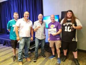 JD attended Delirious Comedy Club on May 2nd 2021 via VetTix