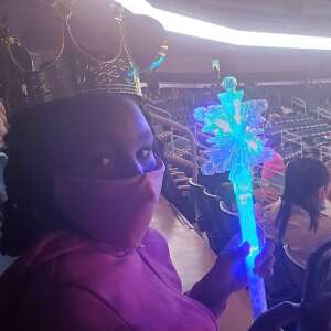 D. Davenport attended Disney on Ice Presents Dream Big on Apr 21st 2021 via VetTix
