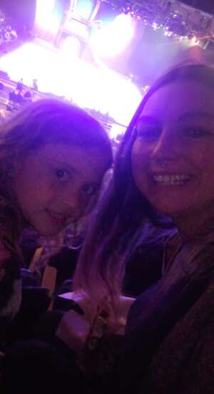 Alisha attended Disney on Ice Presents Dream Big on Apr 21st 2021 via VetTix
